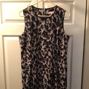 LOFT Casual Print Dress
